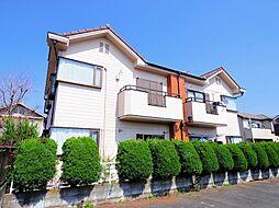 東京都東久留米市小山3丁目の賃貸アパートの外観