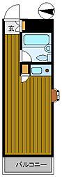 スーパーリッチ314[5階]の間取り