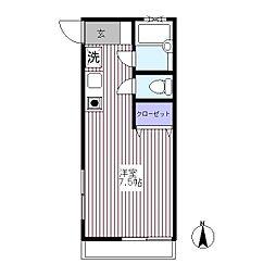シオン・サカイ[1階]の間取り