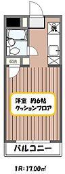 東京都江戸川区西葛西5丁目の賃貸アパートの間取り