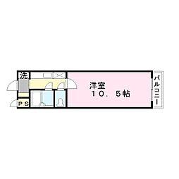 第二ライフマンション[3階]の間取り