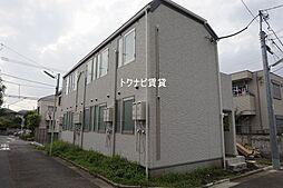 東京都杉並区下高井戸3丁目の賃貸アパートの外観