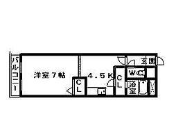 ベル31A[4階]の間取り