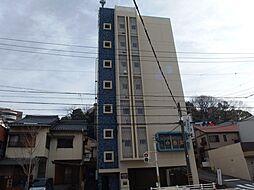 愛知県岡崎市明大寺町字西郷中の賃貸マンションの外観