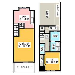 [テラスハウス] 静岡県浜松市西区志都呂2丁目 の賃貸【/】の間取り
