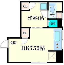 豊栄ハウス[2階]の間取り