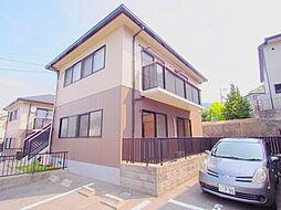 広島県広島市安芸区矢野南5の賃貸アパートの外観