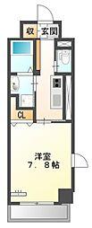 仮)中区正木3丁目自宅併用店舗マンション[6階]の間取り