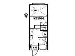 ハイツクリサンセマム[2階]の間取り