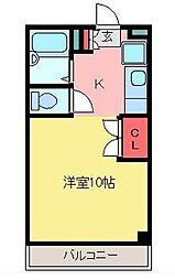 育宝毛呂山ビル[5階]の間取り