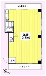 所沢マコトビル[301号室]の間取り