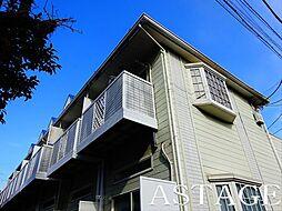東京都杉並区永福4丁目の賃貸アパートの外観