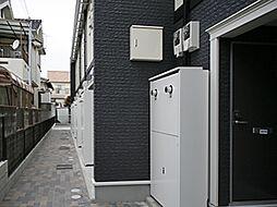 兵庫県たつの市龍野町宮脇の賃貸アパートの外観