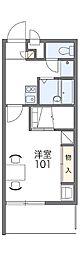 長野県松本市並柳1丁目の賃貸アパートの間取り