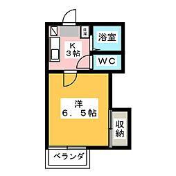 ラ・セゾン[1階]の間取り