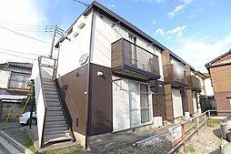 埼玉県所沢市東住吉の賃貸アパートの外観