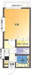 キャンパスタウン霞[2階]の間取り
