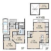 建物面積78.05平米、価格1465万円(税込)