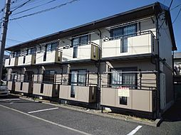 長野県松本市平田東1丁目の賃貸アパートの外観