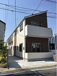 神奈川県藤沢市西富1丁目の賃貸アパートの外観