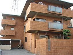 大阪府寝屋川市高宮あさひ丘の賃貸マンションの外観