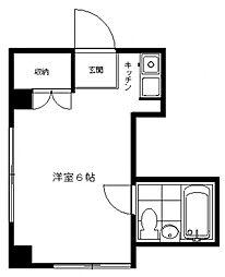 レモネード三田[205号室号室]の間取り