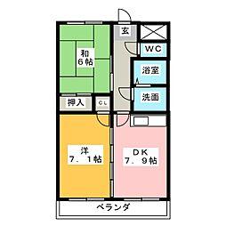 TOYOビル[3階]の間取り