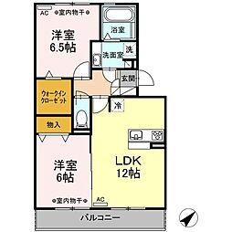 仮)D-room 有玉南町[3階]の間取り