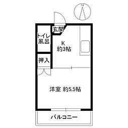 コンパルM[2階]の間取り