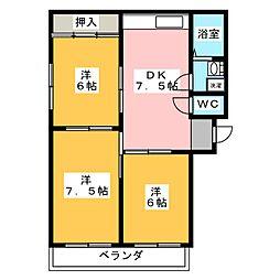 MTコーポ[2階]の間取り