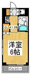 セジュール・ド・ミワ参番館[2階]の間取り