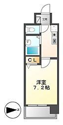 マ・メゾン白金[7階]の間取り