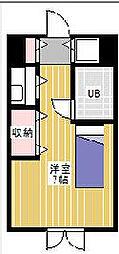 シティフォーラム上本郷[4階]の間取り