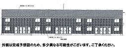 広島県広島市東区戸坂数甲1丁目の賃貸アパートの外観