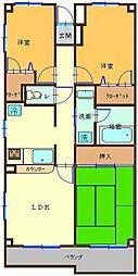 クサカビルディング[3階]の間取り
