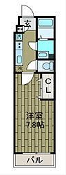神奈川県相模原市中央区共和3丁目の賃貸アパートの間取り