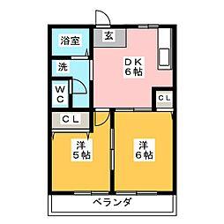 表参道[2階]の間取り