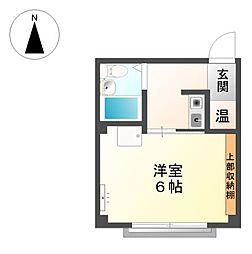 コーポ杉栄3[2階]の間取り