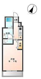木更津市金田東5丁目新築アパート[2階]の間取り