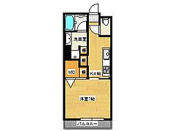 兵庫県神戸市垂水区川原2丁目の賃貸マンションの間取り
