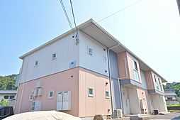 広島県広島市安佐南区長楽寺2丁目の賃貸アパートの外観写真