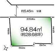 間口が広く建築プランが立て易い土地です。