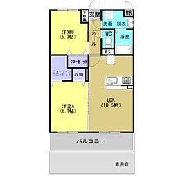 HIDAMARI[1階]の間取り