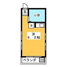 小田ビル[2階]の間取り
