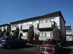 桜コーポ A棟[203号室]の外観