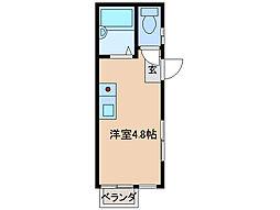 アイティーオー平田II南館[2階]の間取り