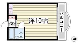 シティハイツアムール[5階]の間取り