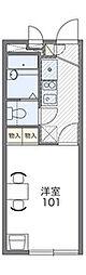 横濱ヴィラ[1階]の間取り
