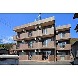 岡山県岡山市北区津島福居2丁目の賃貸マンションの外観
