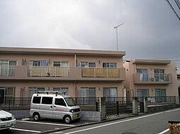 東京都昭島市松原町5丁目の賃貸アパートの外観